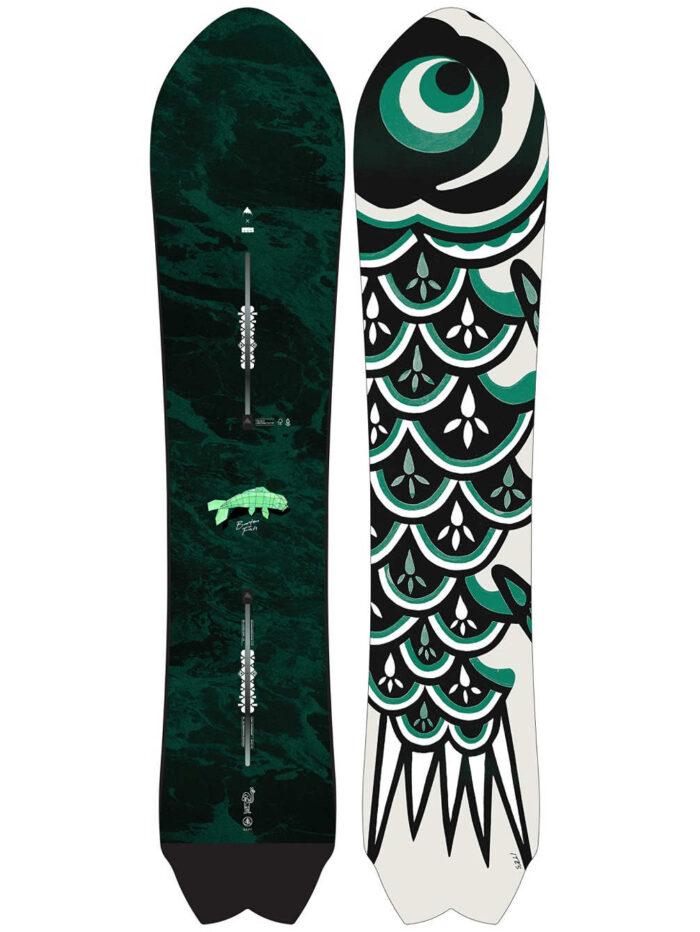 Burton Fish 3D Directional Flat Top Snowboard